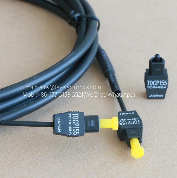 Toshiba TOCP 155 Optical Fiber Cable Assembly TOCP155 JIS F05 Simplex type APF(980/1000um)