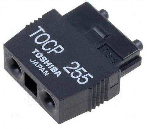 Toshiba TOCP 255 plastic fiber optic connector TOCP255 Toshiba Connector