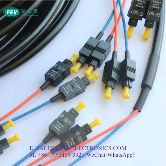 SUMITOMO CF-1571 JIS F05 H-PCF Simplex Cable Assemblies
