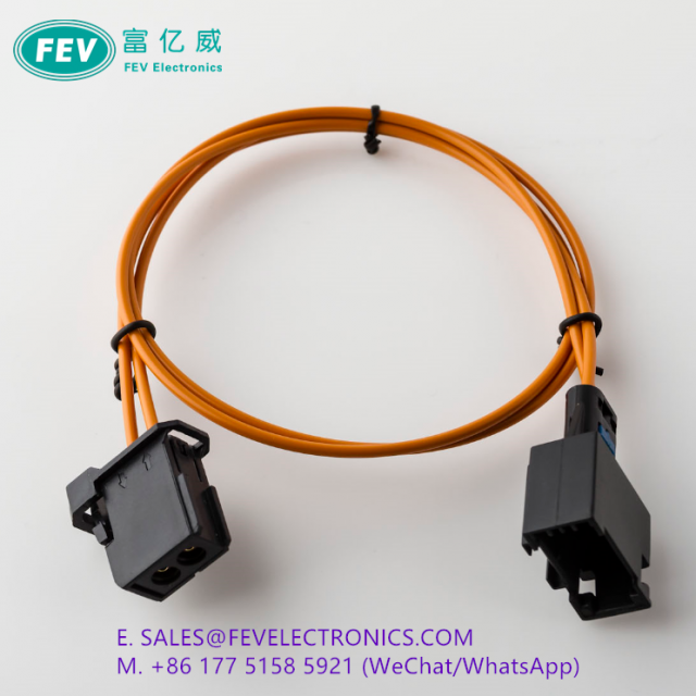 MOST fiber optical cable for Car Radio and Audio Female connector
