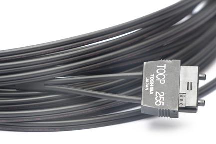 TOCP255K TOSHIBA OPTIC FIBER CABLE JIS F07